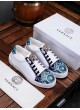 VERSACE EUROPE PRINT MEDUSA CASUAL SNEAKERS
