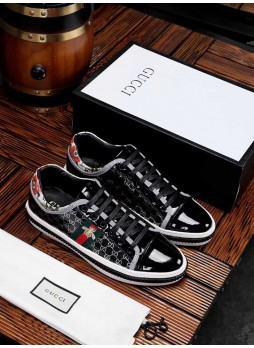 GUCCI EUROPEAN MEN'S CASUAL SHOES NEW BOARD SHOES