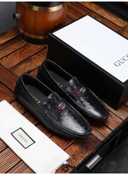 GUCCI BRITISH STYLE BUSINESS CASUAL MEN'S SHOES