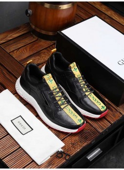 GUCCI 2019 WILD BREATHABLE SPORTS CASUAL SHOES CANVAS SHOES