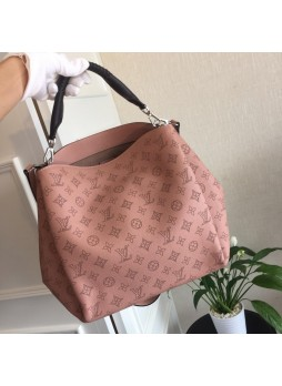 LOUIS VUITTON BABYLONE PM MAHINA HANDBAGS