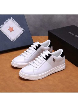ARMANI SPORTS STYLE MEN'S CASUAL SHOES 2019 POPULAR WILD SHOES