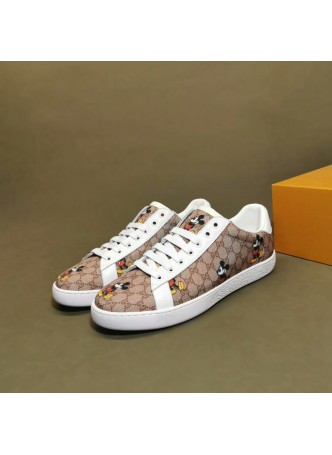 GUCCI  EUROPEAN MEN'S SHOES SNEAKERS