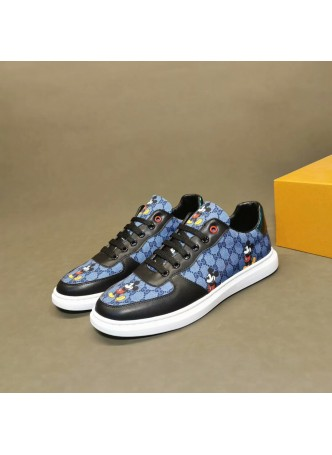 GUCCI  2019 WILD BOARD SHOES SPORTS BEE MEN'S CASUAL SHOES