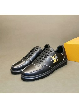 LOUIS VUITTON EUROPEAN MEN'S SHOES BOARD SHOES WILD FASHION CASUAL SHOES