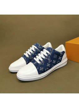 LOUIS VUITTON 2019 NEW SHOES SNEAKERS BRITISH PRESBYOPIA MEN'S CASUAL SHOES