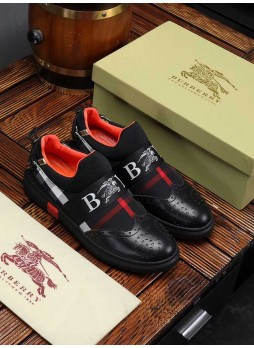 BURBERRY PLAID SHOES