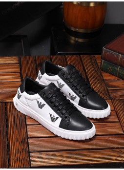 ARMANI 2019 SPORTS SHOES LEATHER BREATHABLE CASUAL WILD FOUR SEASONS MEN'S SHOES