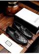 GUCCI WILD SOFT-SOLED SOCIAL LAZY CASUAL LEATHER SHOES