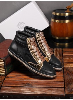 VERSACE NEW HIGH-END CASUAL SHOES MEN'S SHOES IN EUROPE