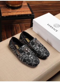 VERSACE 2020 EUROPEAN STATION FAN JIA MEDUSA CASUAL MALE BEAUTY HEAD LAZY SHOES